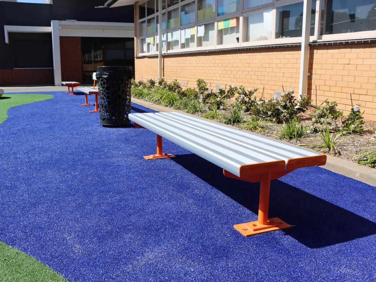 SeatsPlus Double Plank Orange