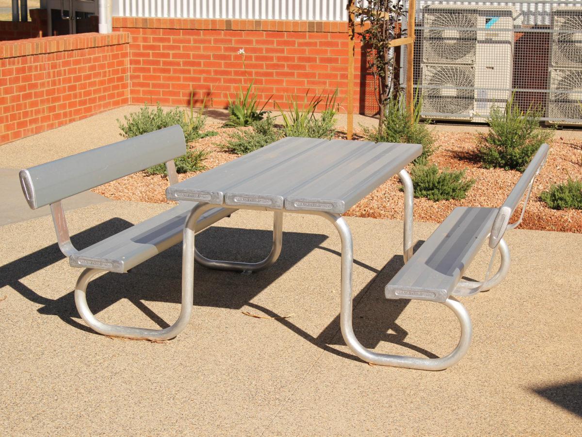 SeatsPlus Wheelchair Friendly Park Setting Back Rest
