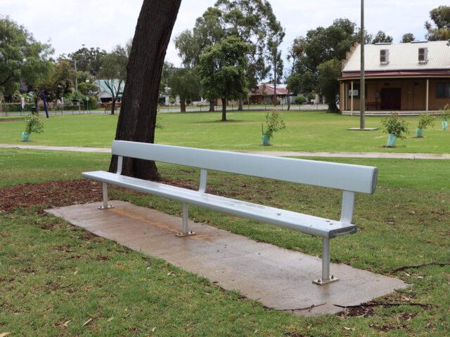 SeatsPlus Bolt Down Bench with Backrest