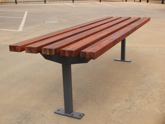 SeatsPlus Timber Bench Bolt Down